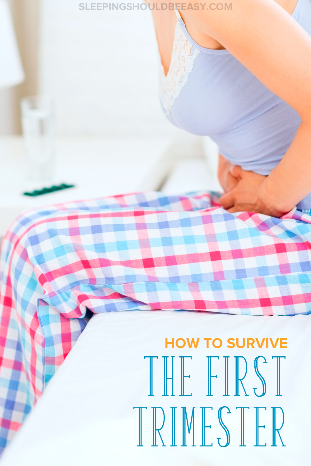 Need help surviving the first trimester? Getting through the first trimester can be tough. Read these pregnancy tips and learn how to cope with morning sickness and fatigue in pregnancy. Even includes a FREE printable pregnancy checklist of all the things to get done before the baby is born! A must read for every mom about to welcome a baby! #FirstTrimester