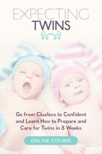 Expecting Twins is an 8-unit program that offers a step-by-step framework to expectant moms on preparing and caring for twins. Join the Expecting Twins course and get the information, guidance and community you need as you prepare for your twins.