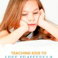 Teaching Kids to Lose Gracefully