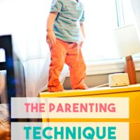 The Parenting Technique You Shouldn't Follow (And What to Do Instead)