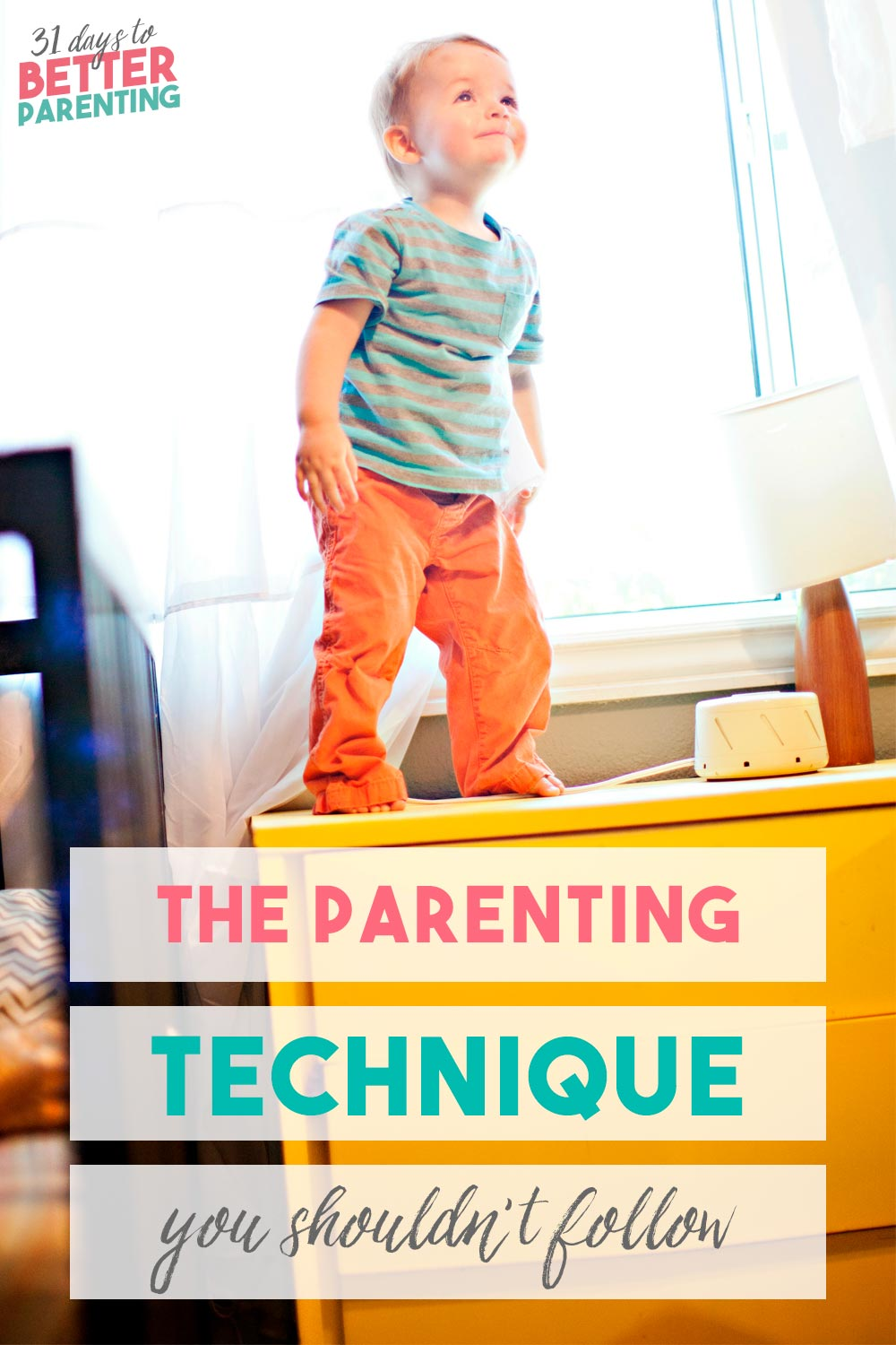 When your child misbehaves or cries, it's tempting to do this to get him quiet or stop crying. But this is one parenting technique you shouldn't follow.