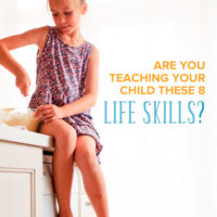 Teaching life skills kids should know is important! Parenting is all about preparing our kids to be independent and competent adults. Find activities and ideas to make learning life skills easy and effective.
