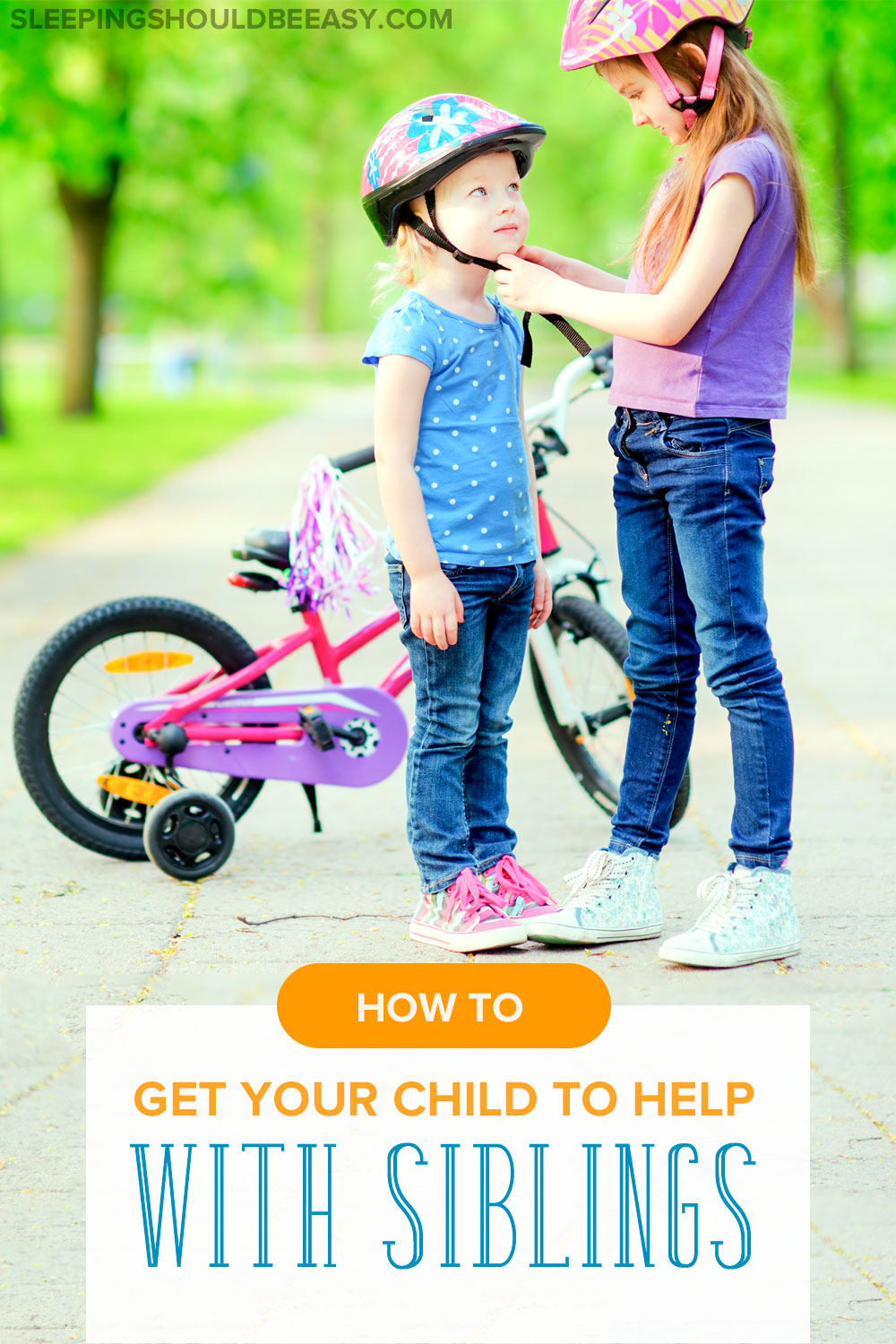 What do you do when your older child refuses to help with younger siblings? Follow these tips to encourage your child to help willingly and on her own.