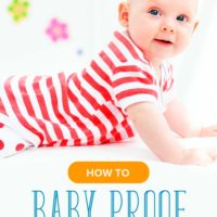 Is Your Baby Starting to Be Mobile? How to Baby Proof Your Home