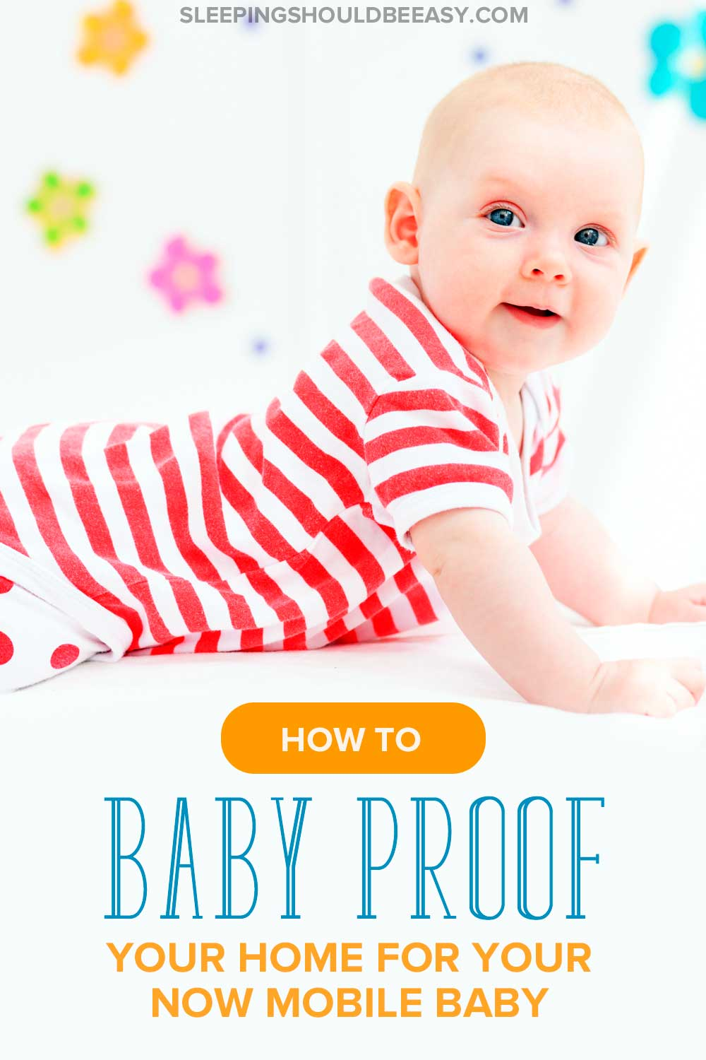 Is your baby now mobile? Practice safety tips and learn how to baby proof your home. These five items will keep your children safe in your house as they explore their surroundings.