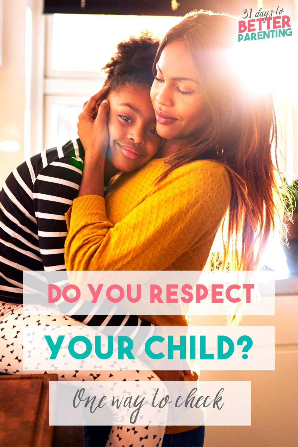 It's easy to overlook whether we're showing respect for kids. Want to know if you respect your children? Here's one guaranteed way to check.
