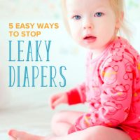 5 Easy Ways to Stop Leaky Diapers at Night