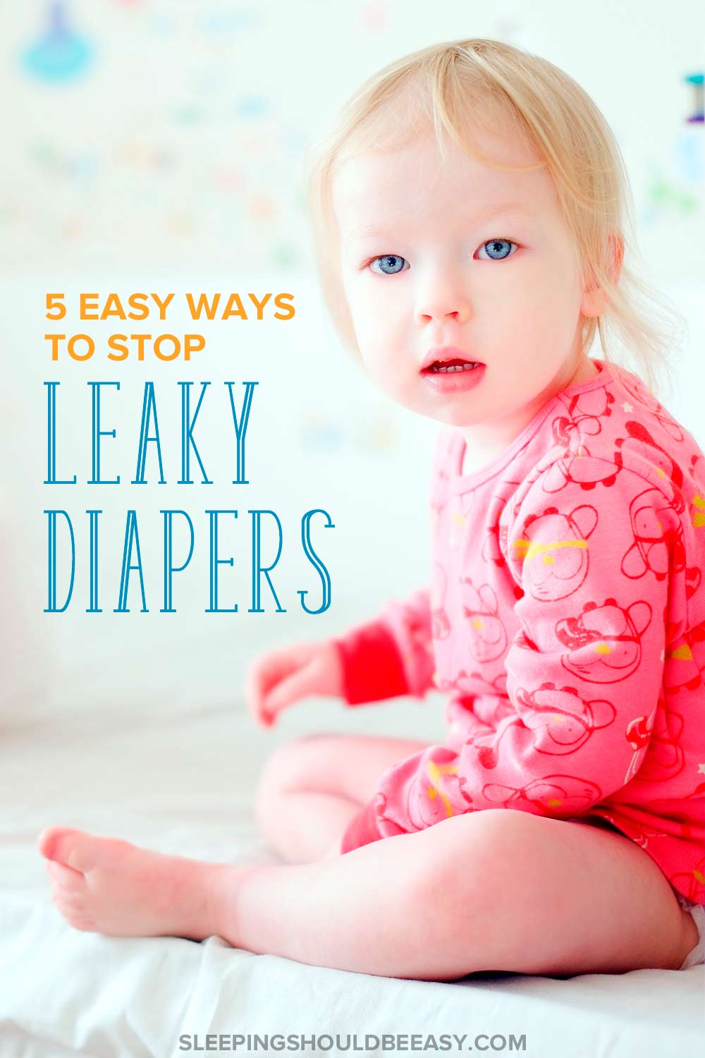 Does your child wake up with a wet diaper? Looking for diapers that don't leak at night? Stop leaky diapers at night with these effective tips.