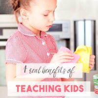 4 Benefits of Teaching Kids Responsibility