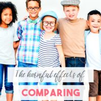 (OLD) The Harmful Effects of Comparing Our Kids