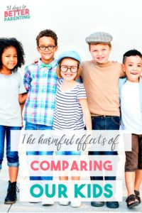 It's so easy to compare our kids, whether their milestones, achievements or interests. But here's why comparing kids is harmful and what you can do instead.