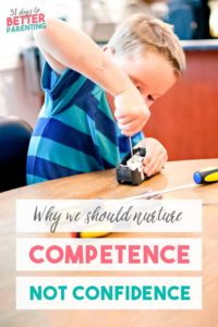 While confidence is important, competence in children is a better trait to nurture. Learn the hidden dangers of confidence and why competence matters more.