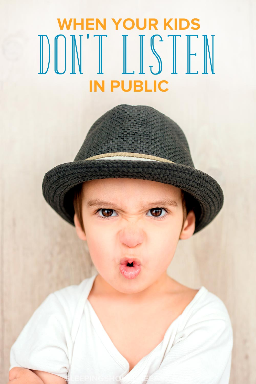 Do you spend every family outing managing misbehaving kids? Learn what to do when kids don't listen in public so you can enjoy your time together.