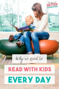 If reading with your children isn't a regular habit, try to make it one. Here are compelling reasons you should read with your kids every day. Try it today!