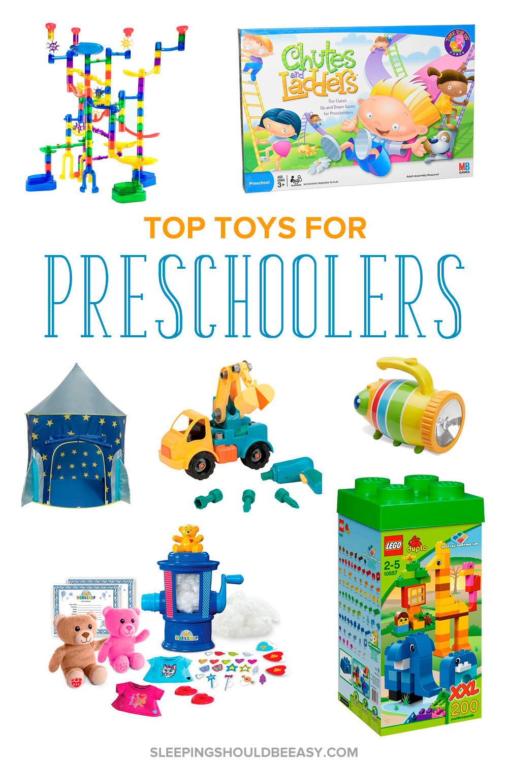 Looking for gifts for two- to four-year-olds? Check out these top toys for preschoolers. Unique, enjoyable and fun to give on holidays or birthdays!