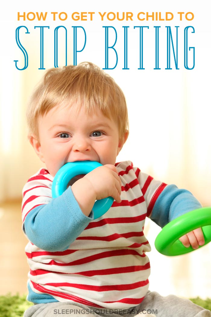 How to stop children biting