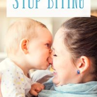 How to Stop Children from Biting