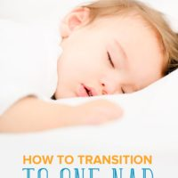 Helping Your Toddler Transition from Two Naps to One