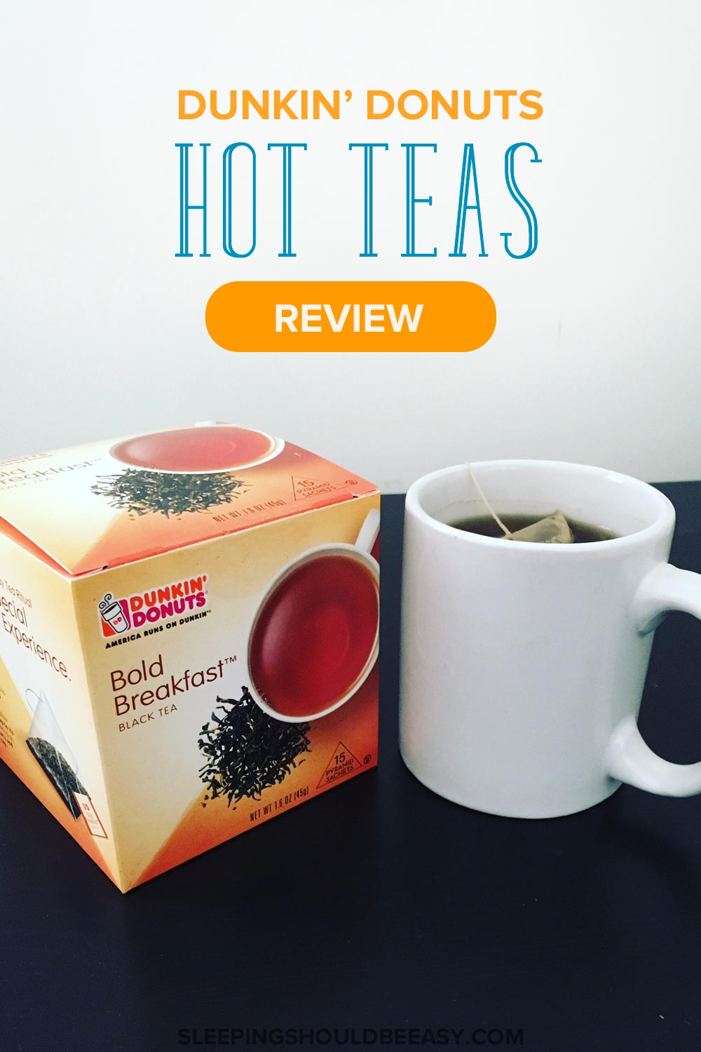 Everyone loves Dunkin' Donuts, but did you know they also feature five new hot tea flavors? See what the new Dunkin Donuts hot tea selections are about!