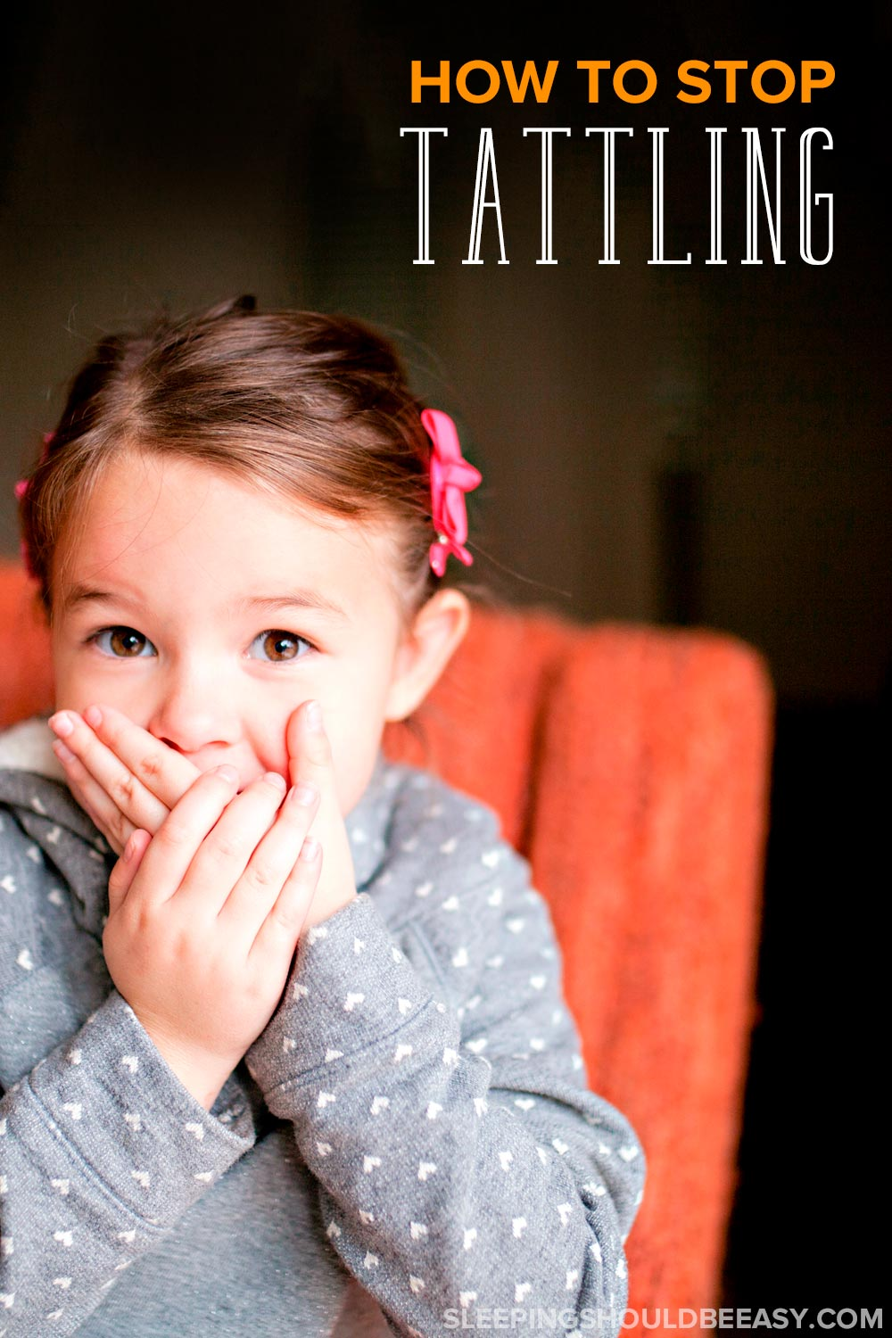 Does your child tell on other kids for every little thing? Learn how to stop tattle telling in your child once and for all.