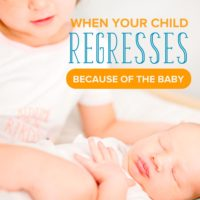 What to Do when Your Child Regresses Because of New Baby Jealousy