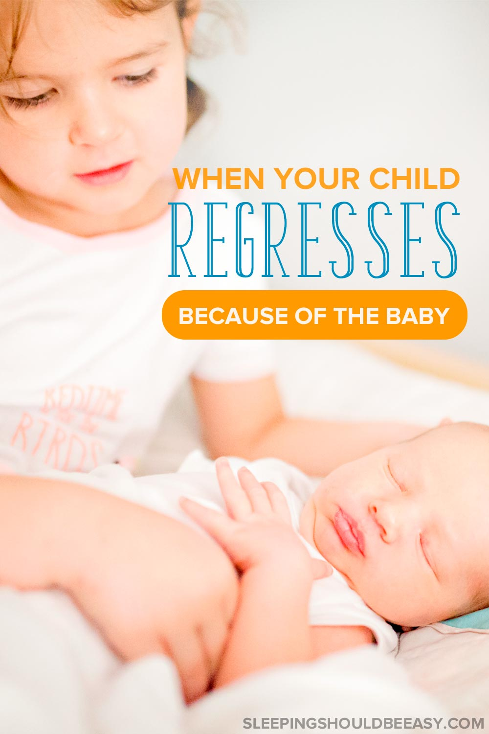 Has your older child regressed with the arrival of a new baby sibling? Learn what to do when your child regresses because of new baby jealousy.