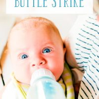 9 Things to Do If Your Baby Goes on a Bottle Strike