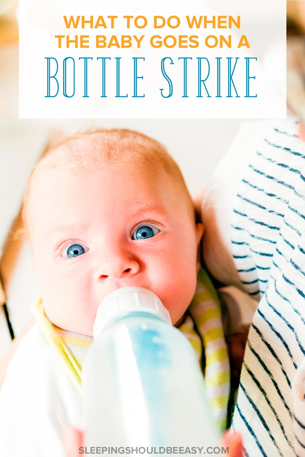 Your baby, who had always taken to bottles, is now going on a bottle strike. Here's what to do if your baby suddenly refuses to drink from a bottle.