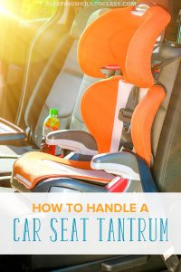 Struggling with convincing your child to get—and stay—in a car seat? Learn how to handle a car seat tantrum effectively with these tips.