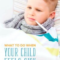 What Should You Do when the Kids Are Sick? This Cheat Sheet Has You Covered