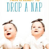What to Do when Only One Twin Is Ready to Drop a Nap