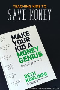 Teaching kids to save money starts at a young age! Learn tips and tricks to teach money management, counting money and the importance of saving money.