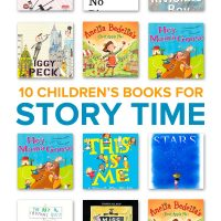 Looking for picture books to read aloud at circle time? These 10 children's story time books to read aloud are sure to entertain kids!