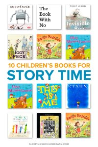 Looking for picture books to read aloud at circle time? These 10 children's books for story time are sure to entertain kids!