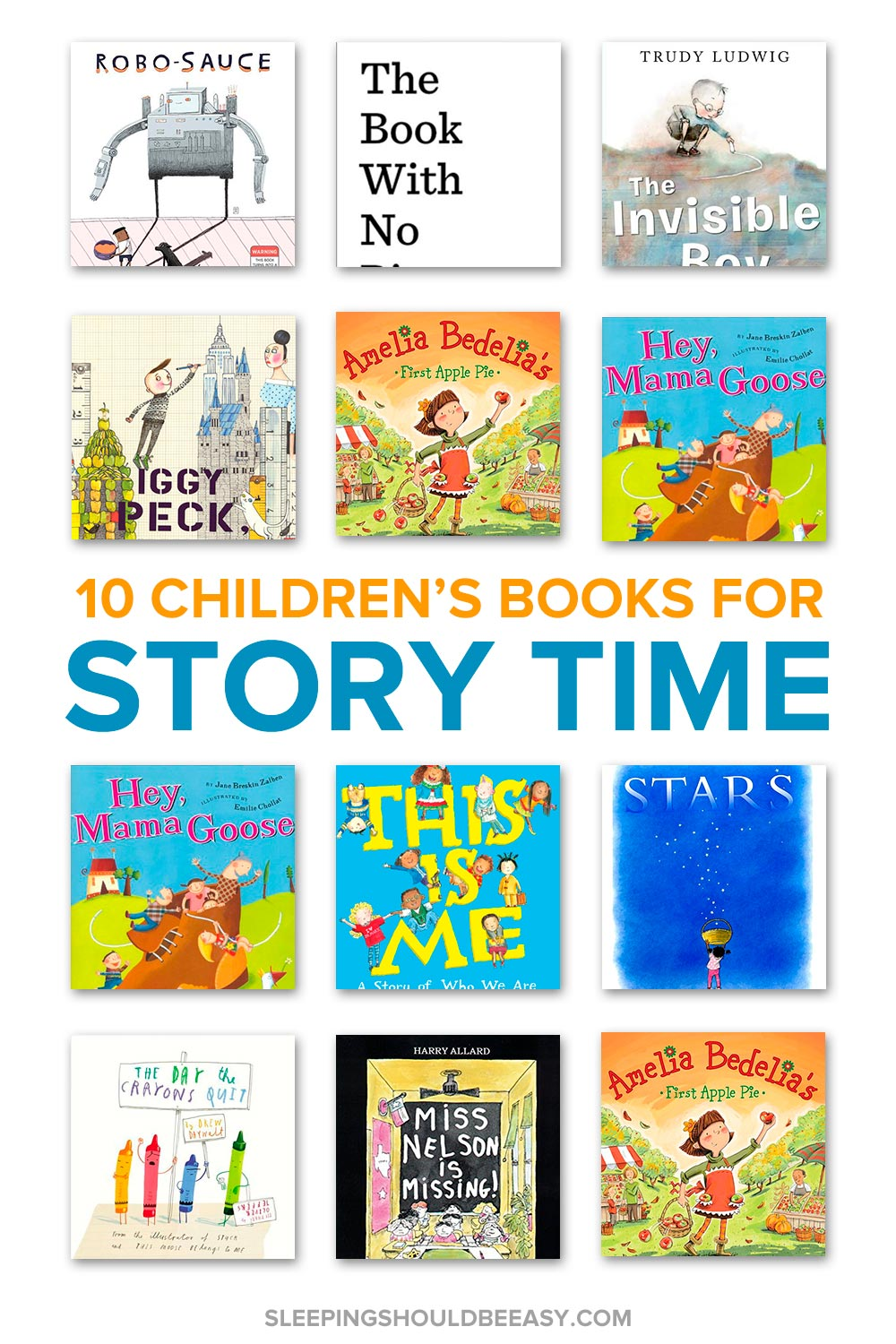 Looking for children's books to read aloud at circle time? These 10 children's books for story time to read aloud are sure to entertain kids!