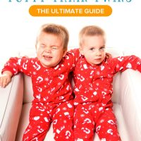 How to Potty Train Twins: The Ultimate Guide