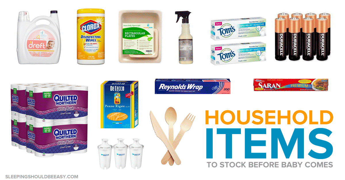 Essential Household Items to Stock Up Before Baby Arrives