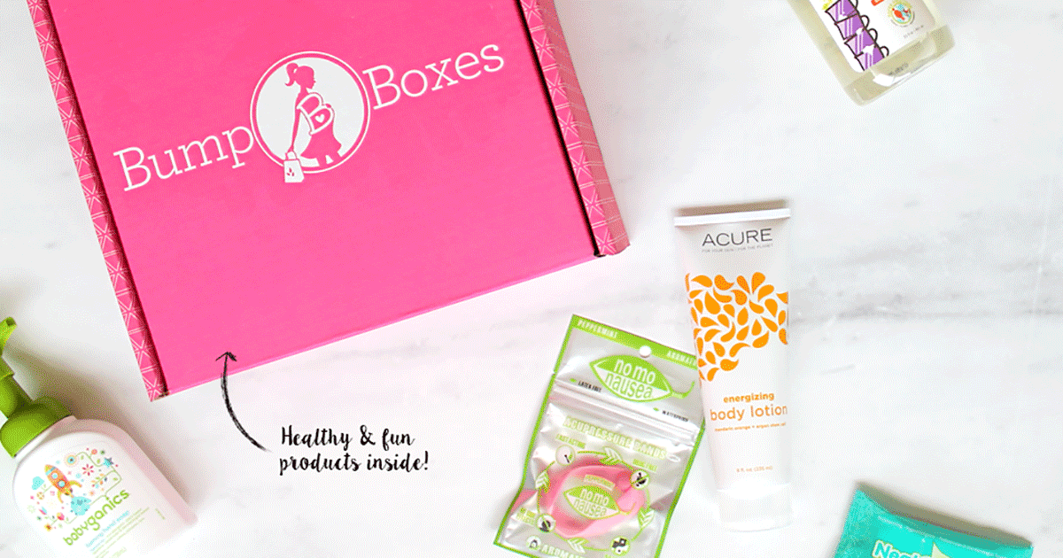 Pregnancy isn't always easy on moms. Make your nine months more comfortable and fun with Bump Boxes, a pregnancy box subscription tailored to your due date!