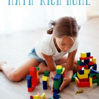 How to Create a Math Rich Environment at Home