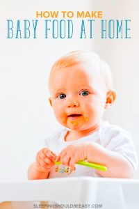 Want to give your baby healthy meals but struggling to find the time? Learn how to make baby food at home easily and conveniently.