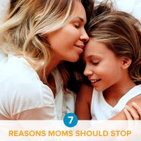 Do you blame yourself and feel guilty for everything that goes wrong? Learn 7 reasons why moms shouldn't blame ourselves for everything — and how to stop.