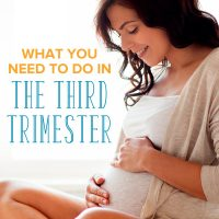 Pregnancy To Do List: What to Prepare in the Third Trimester