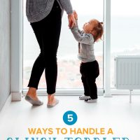 5 Tips to Handle a Clingy Toddler