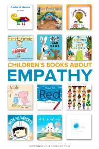Want to raise kids with empathy for other people? Read these 12 children's books about empathy to discuss how others feel and teach your child compassion. Even includes a FREE printable Read Aloud Book List with hundreds of favorite selections to read with your kids! #childrensbooks