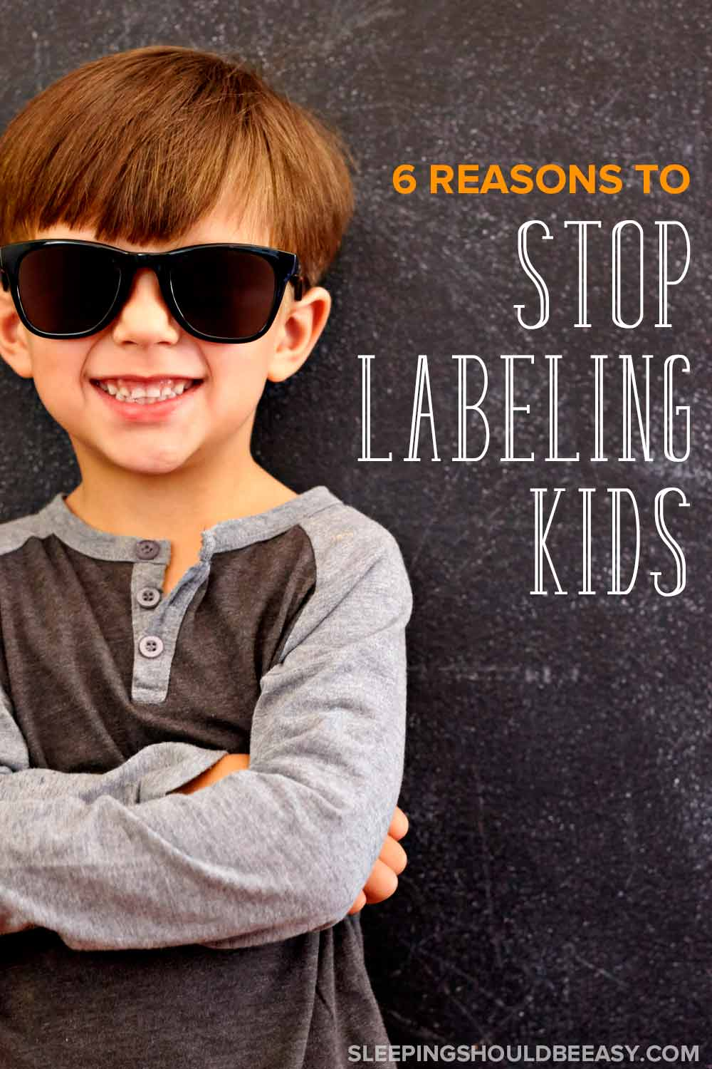 From shy to outgoing, difficult to easygoing, learn the negative effects of labeling kids and why you should not label children (plus what to do instead). #parenting