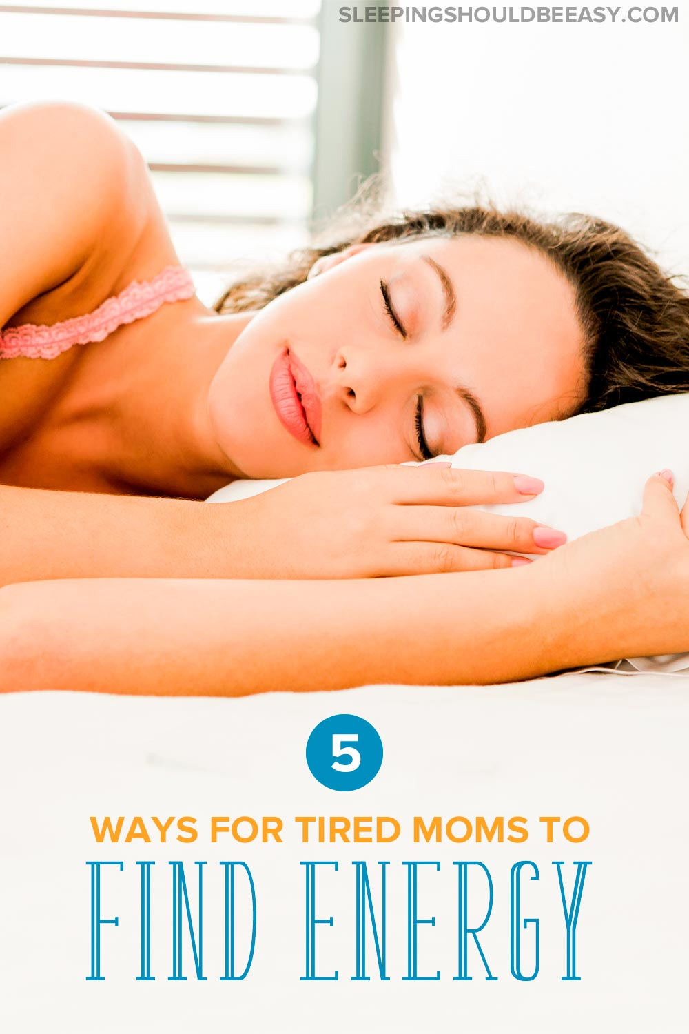Finding focus and energy can be a challenge for the tired mama. Learn 5 tips to help you regain your energy, even when you've got kids.