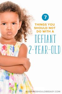 Dealing with defiant behavior is never easy, especially when kids don listen or do the opposite of what you say. Learn how to deal with a defiant 2 year old and avoid these 7 big mistakes. Get parenting tips on what to do when your children test your limits. Even includes a FREE printable about ONE effective word to get kids to listen! #TwoYearOlds