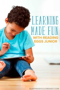 Learning made fun with activities and games is one of the best ways for children to play. Discover how to make learning fun at home with your kids with 5 simply and effective ideas. AD