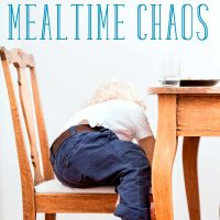 5 Ways to Conquer Mealtime Chaos