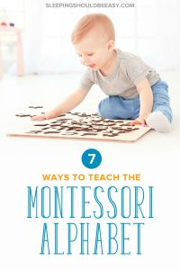 Wondering how to teach your child the Montessori alphabet, including what order? Discover 7 little-known but effective ways to teach children letters the #Montessori way and make learning fun! Even includes FREE sample worksheets of the alphabet! #montessorikids